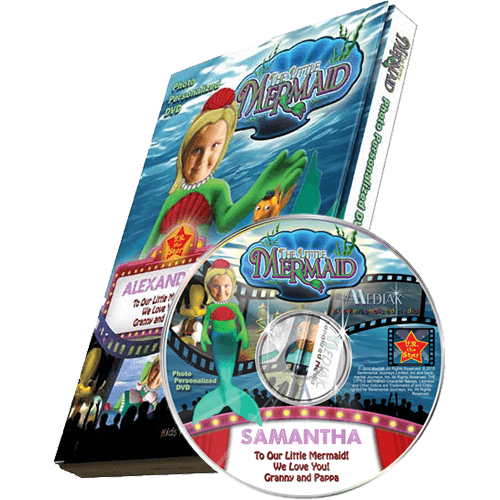 Little Mermaid Photo Personalized Kid's DVD