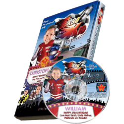Turbo Kid Personalized Kid's Photo DVD