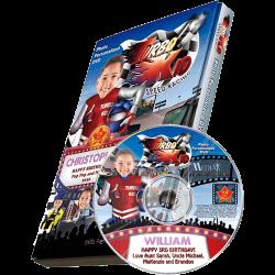 Turbo Kid Personalized Kid's Photo DVD