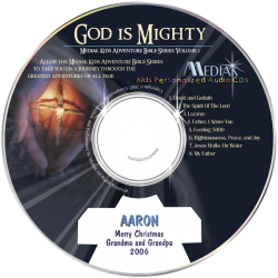 Kids Personalized Religious Music CD