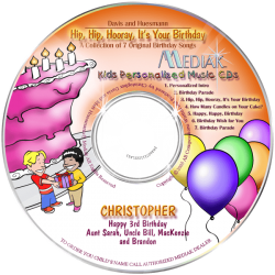 Kids Personalized Birthday Songs CD