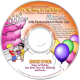 Hip-Hip Hooray It's Your Birthday Personalized Music CD