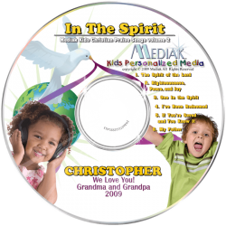 In the Spirit Personalized Children's Music CD