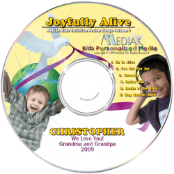 Joyfully Alive Personalized Children's Music CD