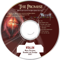 The Promise Personalized Children's Music CD