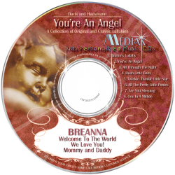 You're An Angel Personalized Children's Music CD