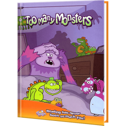Personalized Too Many Monster Children's Book