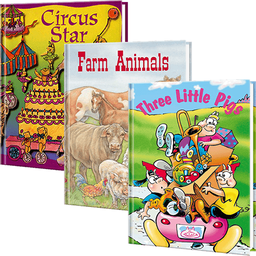 6 Month Personalized Children's Book Club