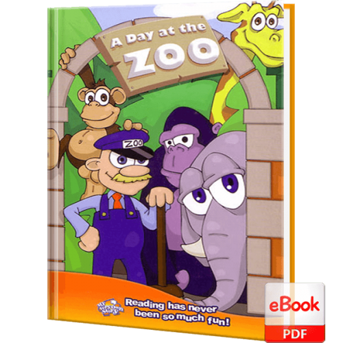 Day at the Zoo Personalized Children's eBook
