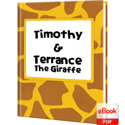 Terrance the Giraffe Personalized Children's eBook