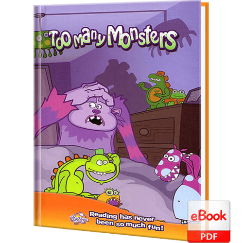 Too Many Monster Personalized Children's eBook