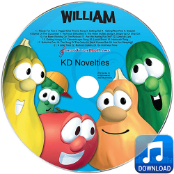VeggieTales Silly Songs Personalized Children's Music MP3