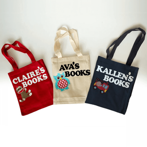 Personalized Tote Bags for Kids