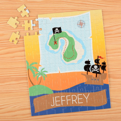 Pirate Personalized Children's Jigsaw Puzzle