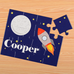Rocket Personalized Kid's Puzzle