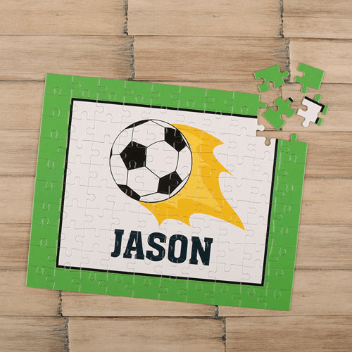 Soccer Personalized Children's Jigsaw Puzzle