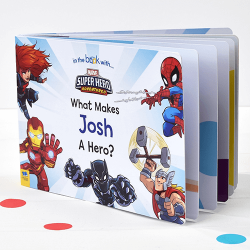 Marvel Heroes Personalized Board Books for Toddlers