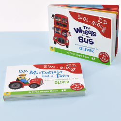 Wheels on Bus & Old MacDonald Sound Boos for Toddlers