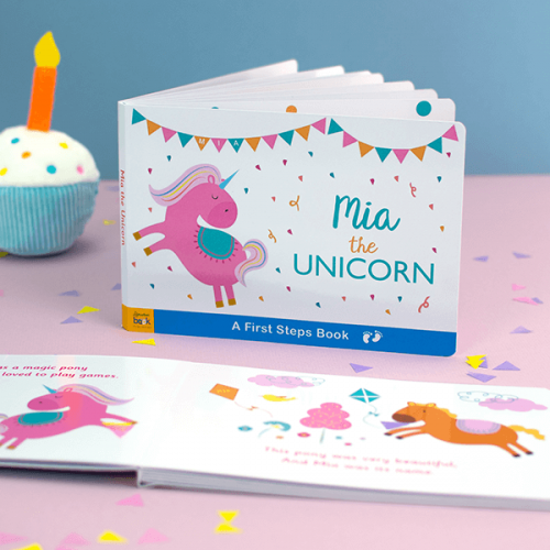 Unicorn Board Book for Toddlers