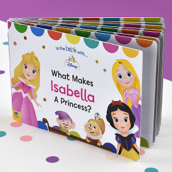 What Makes Me a Princess Personalized Board Books for Toddlers