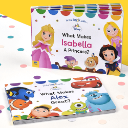 What Makes Me - Personalized Board Book Set