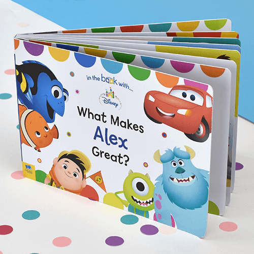What Makes Me Great Personalized Board Books for Toddlers