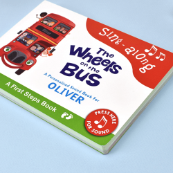 Wheels on the Bus Audio Board Book for Toddlers