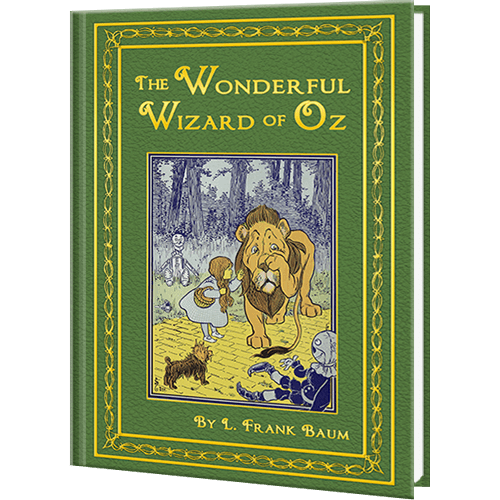 The Wonderful Wizard of Oz | Personalized Kid's Classic Novel | KD Novelties