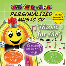 A Full Day of Adventure Personalized Music CD