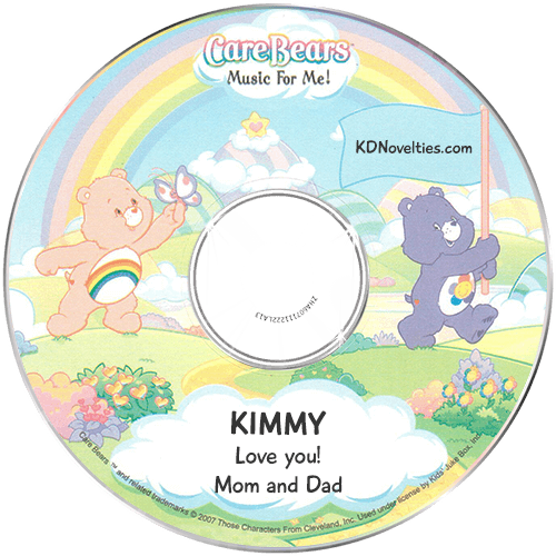 Personalize Care Bears Music for Me