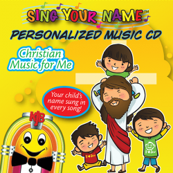 Personalized Kids Christian Music CD
