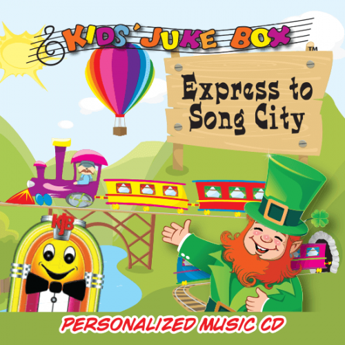 Personalized Express to Song City Music CD