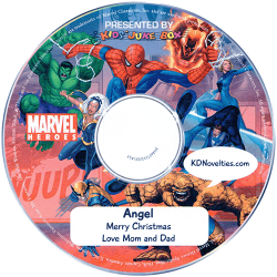 Personalized Spider-Man and You Music CD
